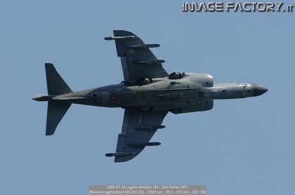 2005-07-15 Lugano Airshow 193 - Sea Harrier GR7