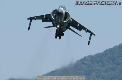 2005-07-15 Lugano Airshow 200 - Sea Harrier GR7