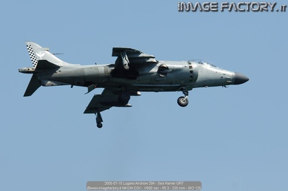 2005-07-15 Lugano Airshow 204 - Sea Harrier GR7