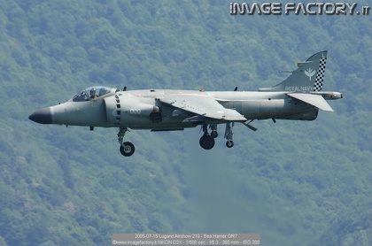 2005-07-15 Lugano Airshow 210 - Sea Harrier GR7