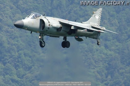2005-07-15 Lugano Airshow 213 - Sea Harrier GR7