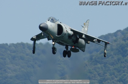 2005-07-15 Lugano Airshow 217 - Sea Harrier GR7