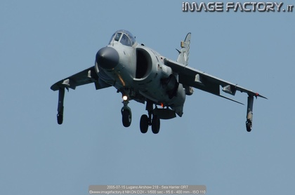 2005-07-15 Lugano Airshow 218 - Sea Harrier GR7