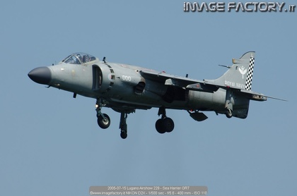 2005-07-15 Lugano Airshow 229 - Sea Harrier GR7