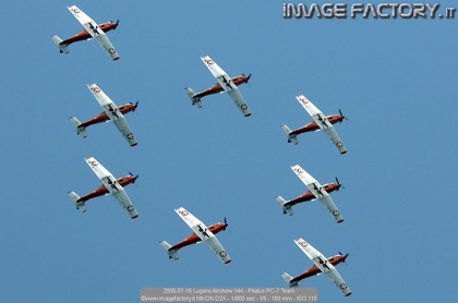 2005-07-16 Lugano Airshow 144 - Pilatus PC-7 Team