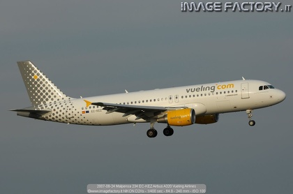 2007-08-24 Malpensa 234 EC-KEZ Airbus A320 Vueling Airlines