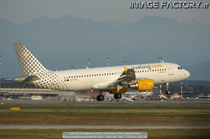 2007-08-24 Malpensa 239 EC-KEZ Airbus A320 Vueling Airlines