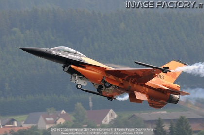 2009-06-27 Zeltweg Airpower 0351 General Dynamics F-16 Fighting Falcon - Dutch Air Force