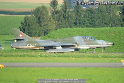2014-09-06 Payerne Air14 0159 - Hawker Hunter