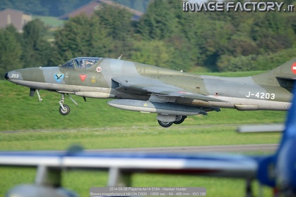 2014-09-06 Payerne Air14 0164 - Hawker Hunter
