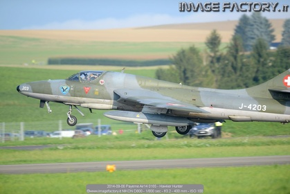 2014-09-06 Payerne Air14 0165 - Hawker Hunter