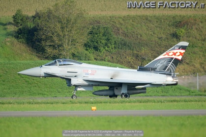 2014-09-06 Payerne Air14 0223 Eurofighter Typhoon - Royal Air Force