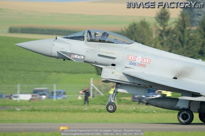 2014-09-06 Payerne Air14 0781 Eurofighter Typhoon - Royal Air Force