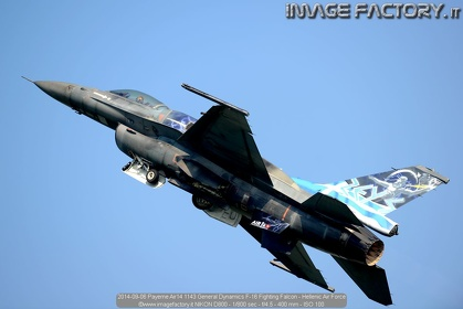 2014-09-06 Payerne Air14 1143 General Dynamics F-16 Fighting Falcon - Hellenic Air Force
