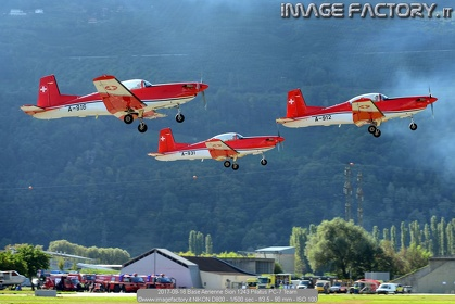 2017-09-16 Base Aerienne Sion 1243 Pilatus PC-7 Team