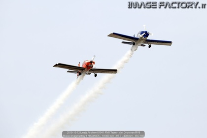 2019-10-12 Linate Airshow 01041 RV8 Team - Van Grunsven RV8