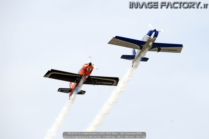 2019-10-12 Linate Airshow 01051 RV8 Team - Van Grunsven RV8