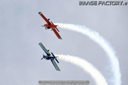 2019-10-12 Linate Airshow 01114 RV8 Team - Van Grunsven RV8