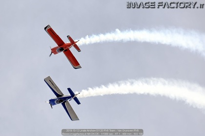 2019-10-12 Linate Airshow 01120 RV8 Team - Van Grunsven RV8