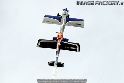 2019-10-12 Linate Airshow 01310 RV8 Team - Van Grunsven RV8