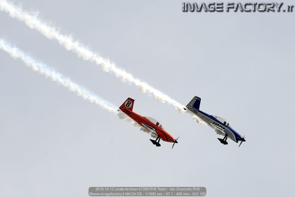 2019-10-12 Linate Airshow 01359 RV8 Team - Van Grunsven RV8