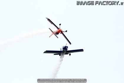 2019-10-12 Linate Airshow 01446 RV8 Team - Van Grunsven RV8