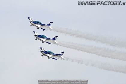 2019-10-12 Linate Airshow 01773 We Fly - Fournier RF-5 Fly Synthesis