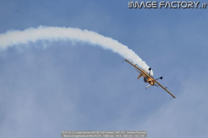 2019-10-12 Linate Airshow 04136 CAP Aviation CAP-231 - Andrea Pesenato