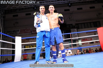 2013-11-16 Vigevano - Born to Fight 0902 Nicolo Colombo-Jacopo Cristini - K1
