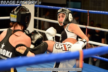 2013-11-16 Vigevano - Born to Fight 1617 Samantha Celestino-Beatrice Porcheddu - Low Kick