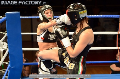 2013-11-16 Vigevano - Born to Fight 1682 Samantha Celestino-Beatrice Porcheddu - Low Kick