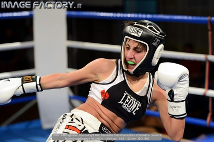 2013-11-16 Vigevano - Born to Fight 1698 Samantha Celestino-Beatrice Porcheddu - Low Kick
