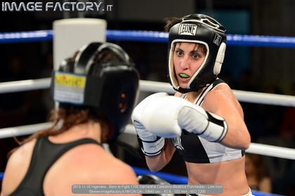 2013-11-16 Vigevano - Born to Fight 1705 Samantha Celestino-Beatrice Porcheddu - Low Kick