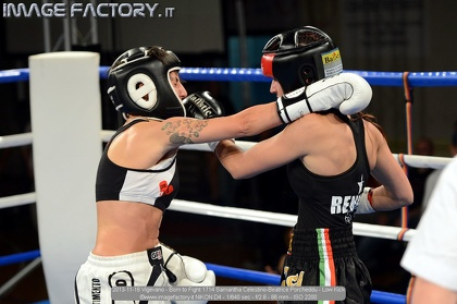 2013-11-16 Vigevano - Born to Fight 1714 Samantha Celestino-Beatrice Porcheddu - Low Kick