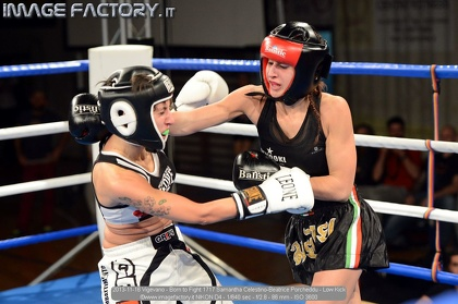 2013-11-16 Vigevano - Born to Fight 1717 Samantha Celestino-Beatrice Porcheddu - Low Kick