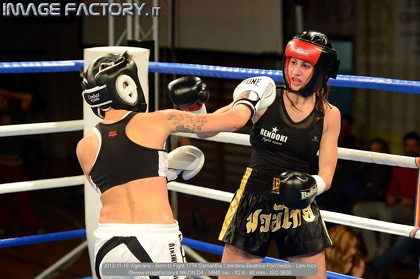 2013-11-16 Vigevano - Born to Fight 1774 Samantha Celestino-Beatrice Porcheddu - Low Kick