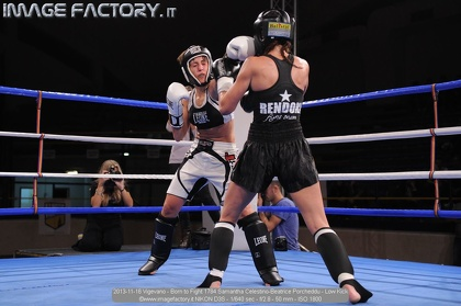 2013-11-16 Vigevano - Born to Fight 1784 Samantha Celestino-Beatrice Porcheddu - Low Kick