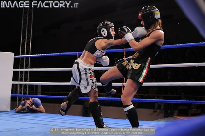 2013-11-16 Vigevano - Born to Fight 1789 Samantha Celestino-Beatrice Porcheddu - Low Kick
