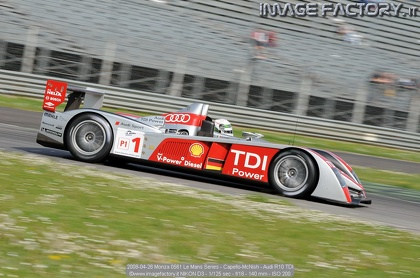 2008-04-26 Monza 0561 Le Mans Series - Capello-McNish - Audi R10 TDI