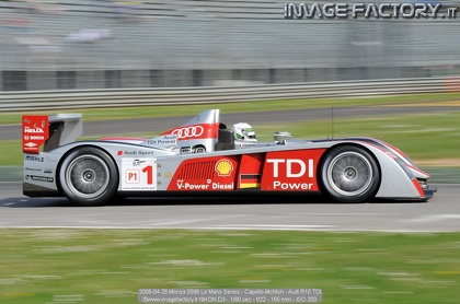 2008-04-26 Monza 0596 Le Mans Series - Capello-McNish - Audi R10 TDI