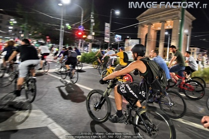 2018-05-31 Milano - Critical Mass 1226