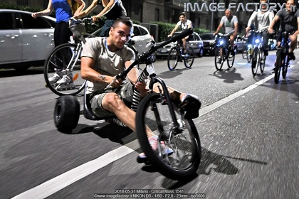 2018-05-31 Milano - Critical Mass 1541