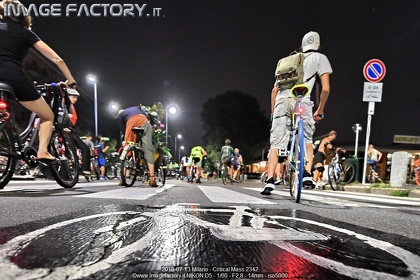 2018-07-13 Milano - Critical Mass 2342