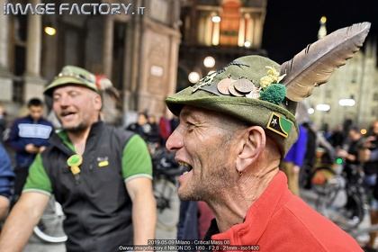 2019-05-09 Milano - Critical Mass 08