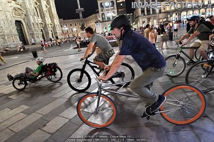 2019-07-11 Milano - Critical Mass 19