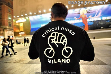 2019-10-10 Milano - Critical Mass 02