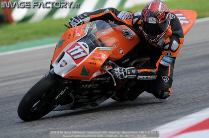 2010-05-09 Monza 0060 Ascari - Superstock 1000 - Warm Up - Marco Rosini - KTM 1190 RC8 R