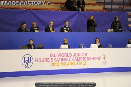 2013-02-28 Milano - World Junior Figure Skating Championships 0020 Miscellaneous