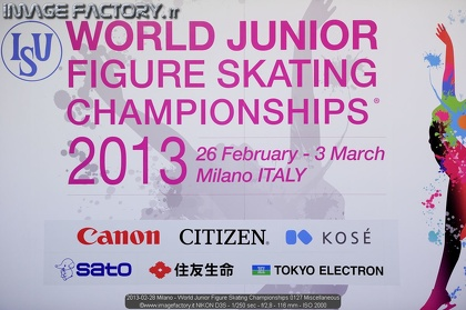 2013-02-28 Milano - World Junior Figure Skating Championships 0127 Miscellaneous