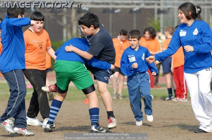 2006-04-08 Milano 039 Insieme a Rugby